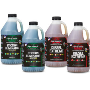 2 2 quart bottles of Stiction Eliminator and 2 2 quart bottles of Diesel Extreme