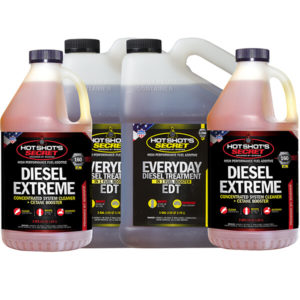 2 1 gallon EDT Bottles and 2 Diesel extreme 2 quart bottles