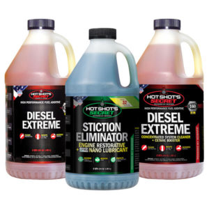 2 Diesel Extreme 2 quarts and a 2 quart Stiction Eliminator