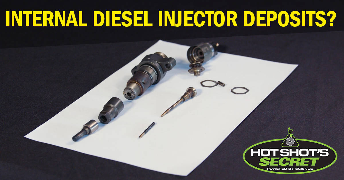Internal Diesel Injector Deposits IDIDs
