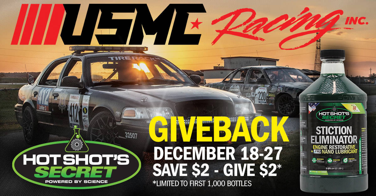 USMC Racing Giveback