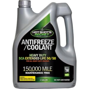 150,000 Mile Heavy Duty Extended Life Green antifreeze coolant