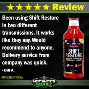 SHIFT RESTORE 5 Star Review