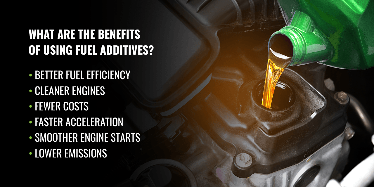 What Are the Benefits of Using Fuel Additives?