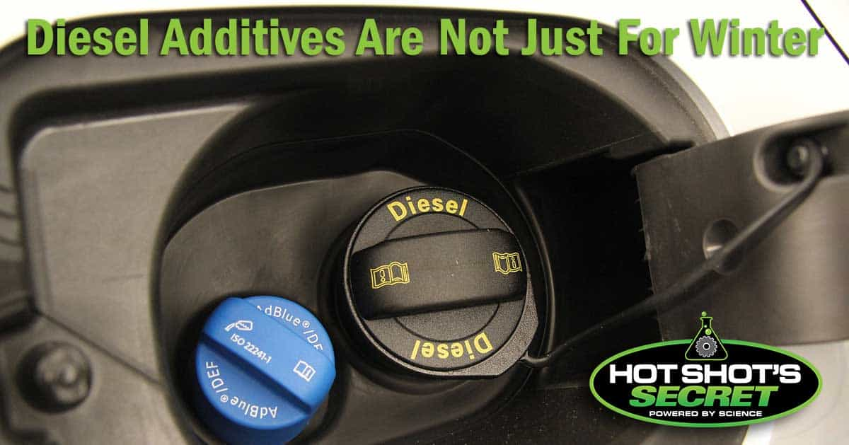 Diesel Additives Are Not Just For Winter