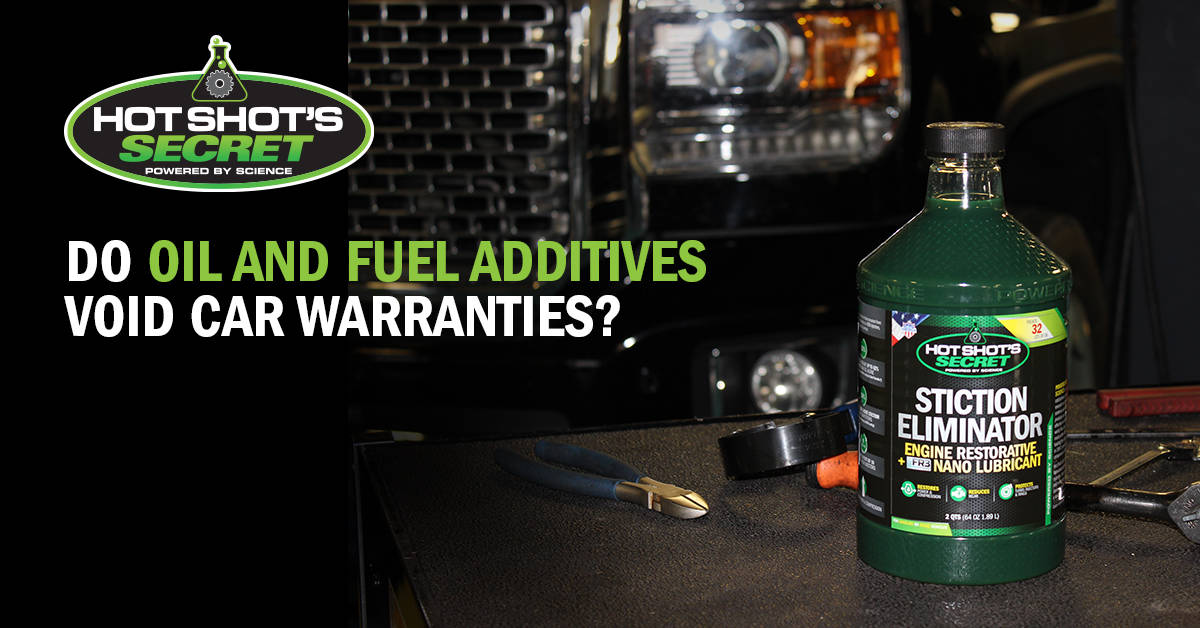 Do Oil and Fuel Additives Void Car Warranties?