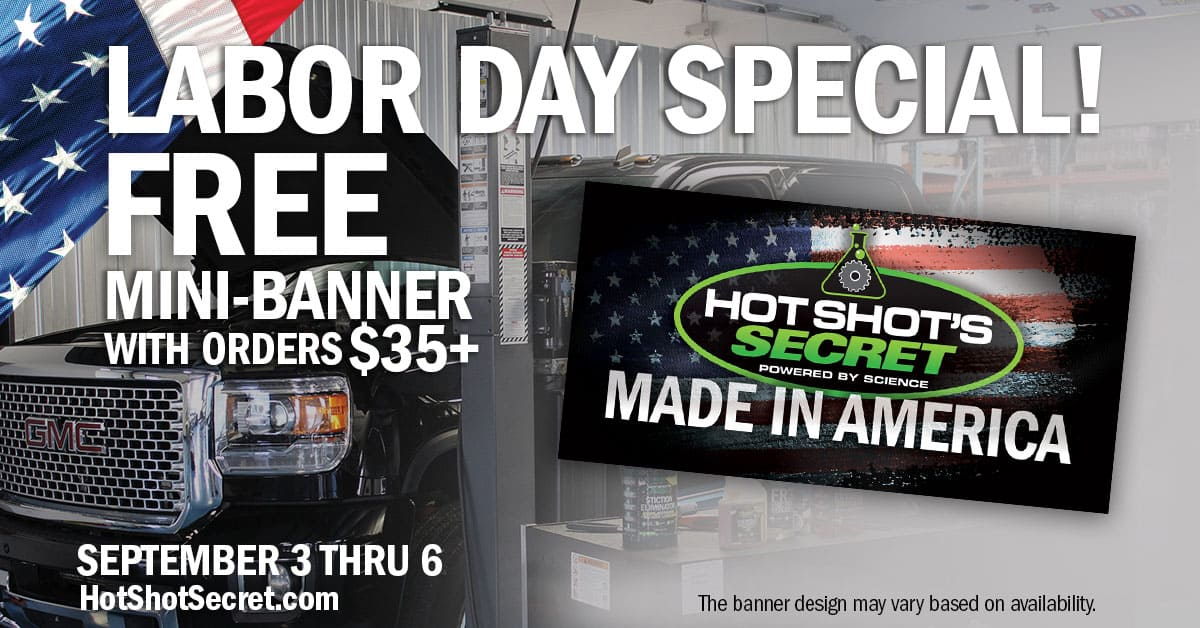 Labor Day 2021 Special: Free mini banner orders $35+