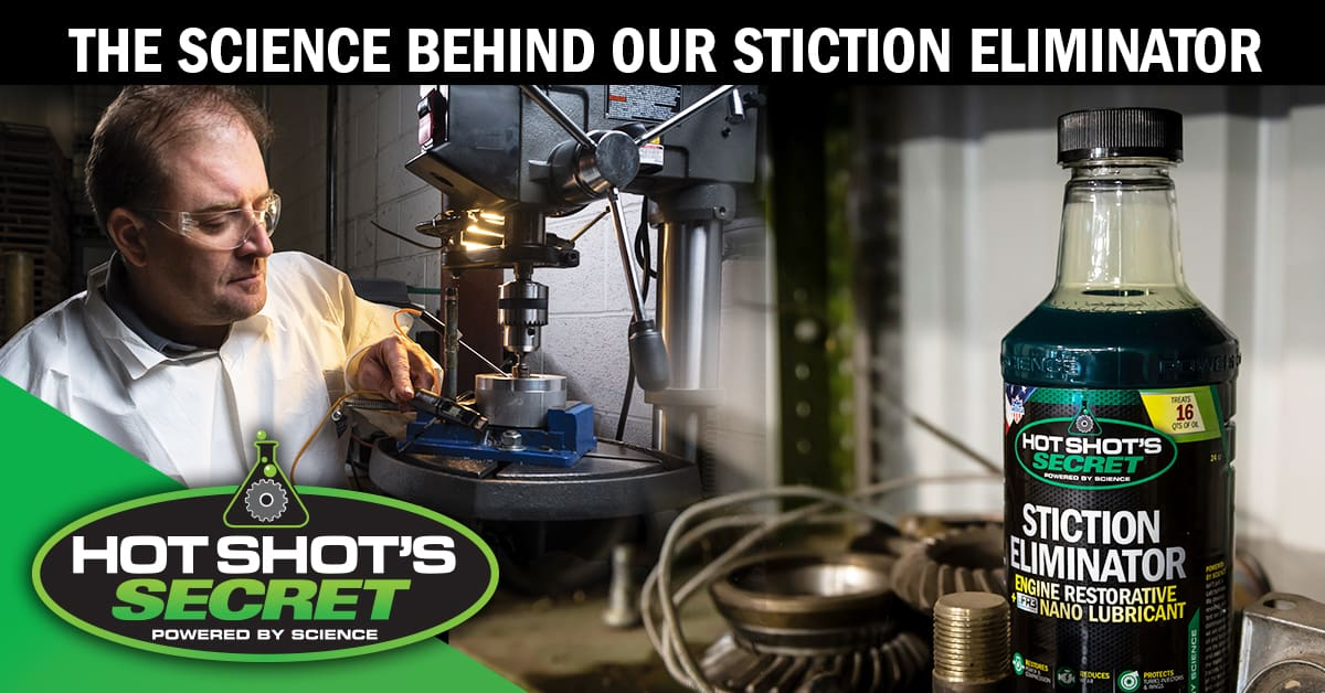 The Science Behind Our Stiction Eliminator